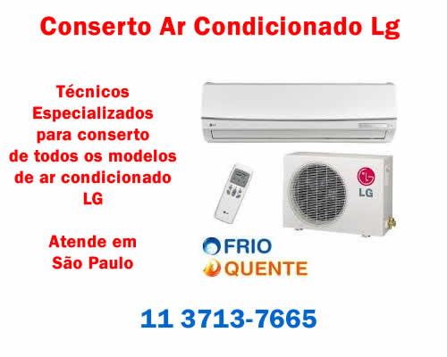 Conserto ar condicionado Lg