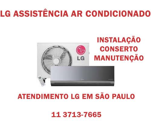 Lg assistência ar-condicionado