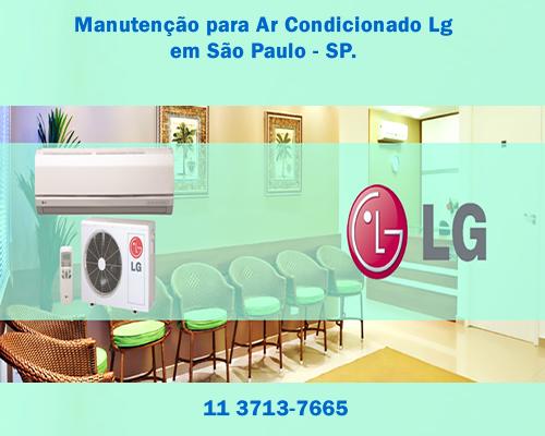 Manutenção ar condicionado Lg