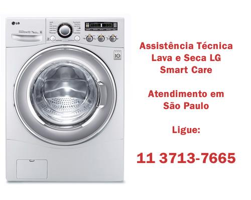 Assistência técnica lava e seca Lg Smart Care