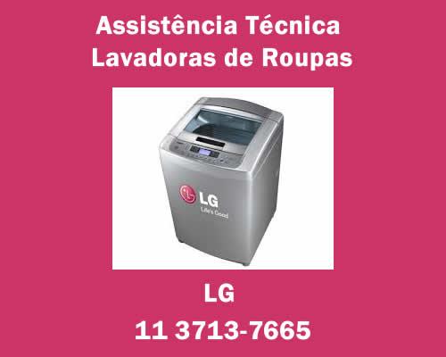 Assistência técnica lavadoras de roupas Lg