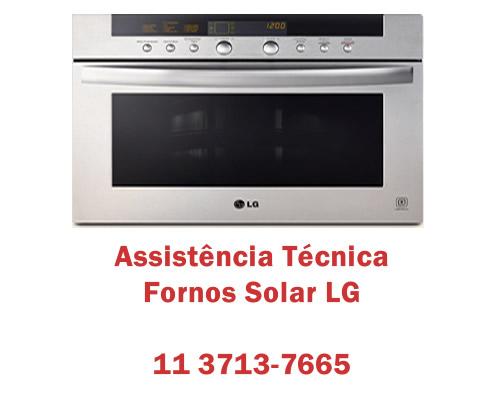 Assistência técnica fornos Solar Lg