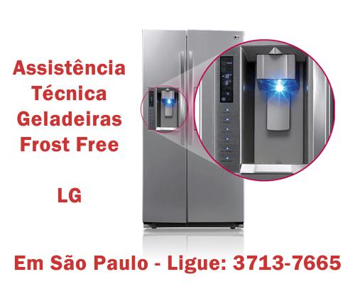 Assistência técnica geladeiras frost free Lg