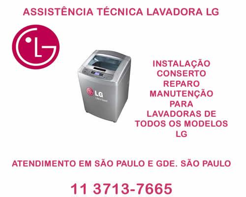 Assistência técnica lavadora Lg