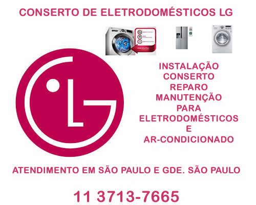 Conserto de eletrodomésticos Lg
