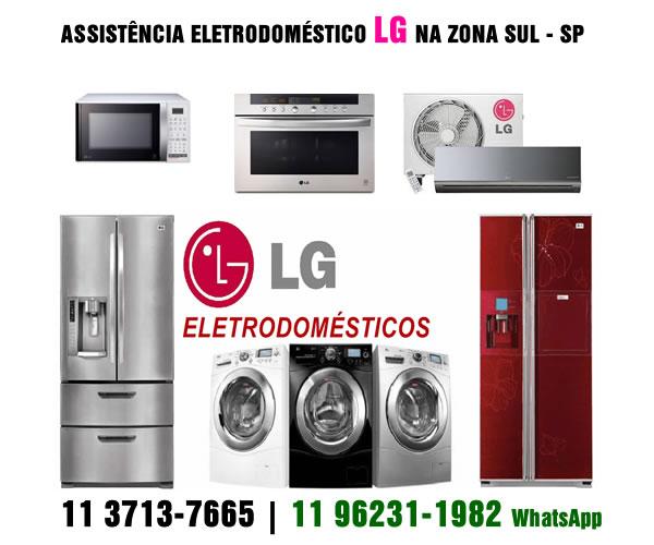 Assistência eletrodoméstico Lg Zona Sul