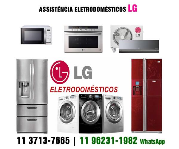 Assistência técnica eletrodomésticos LG