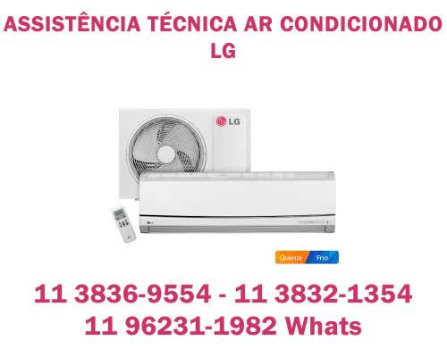 Assistência técnica ar-condicionado LG