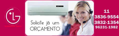 Orçamento LG São Paulo